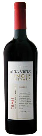 Alta Vista Malbec Single Vineyard Temis